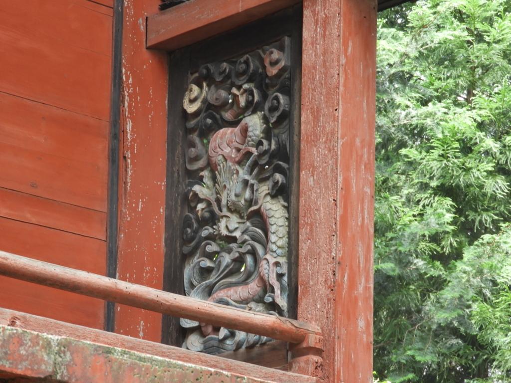 本殿の装飾