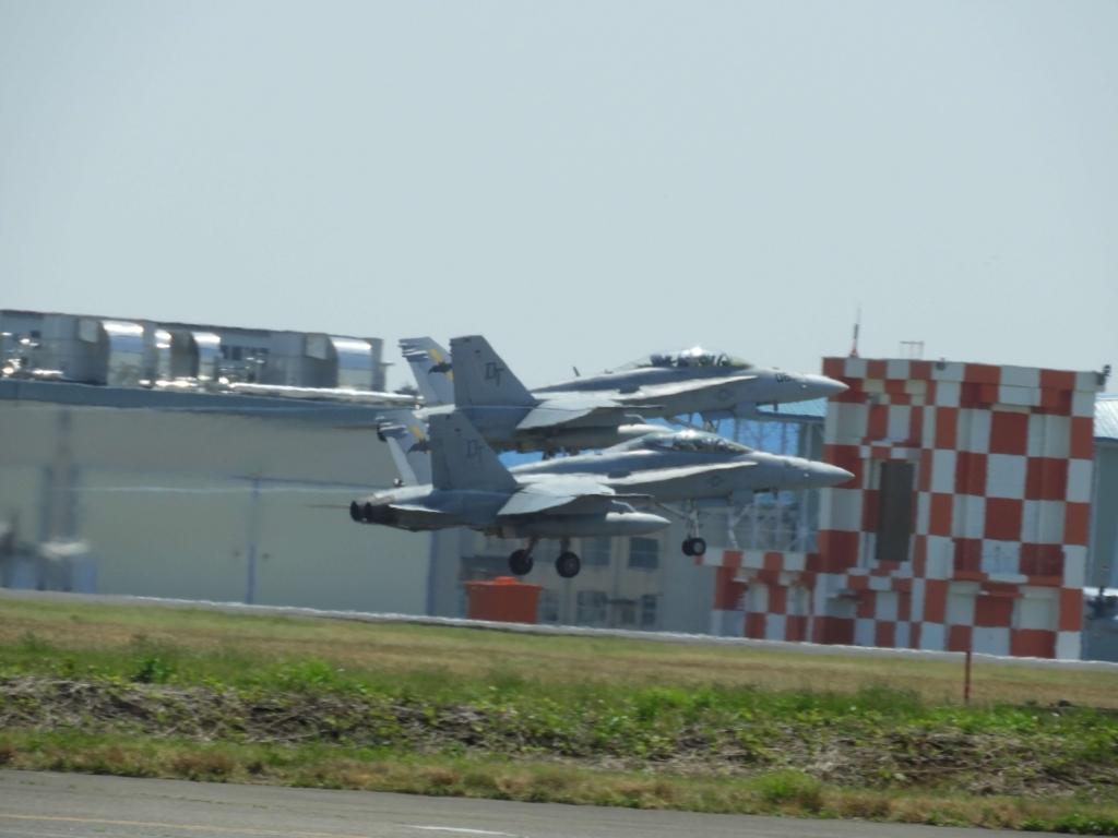 離陸した戦闘機