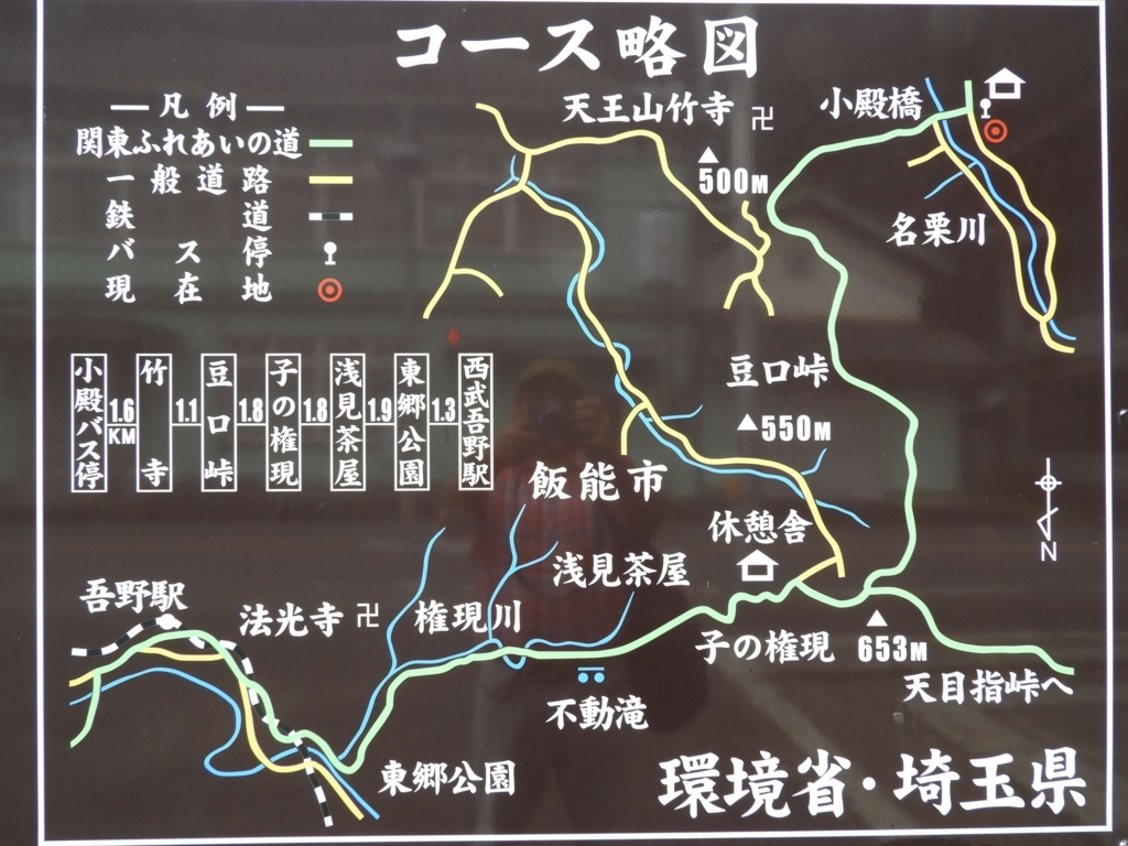 コースの略図