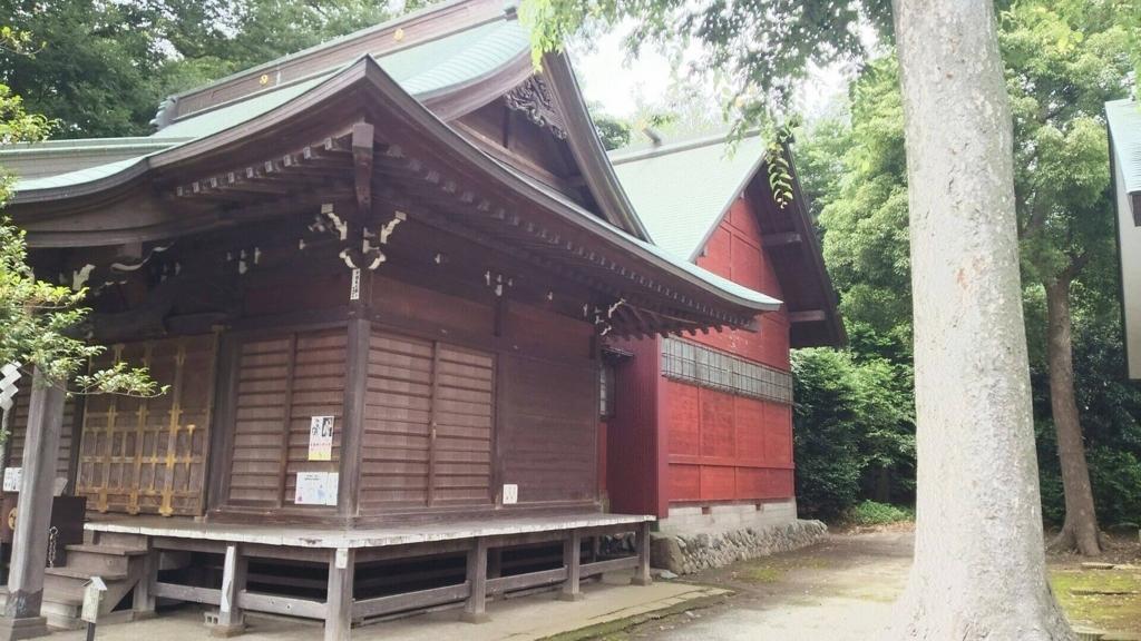 有鹿神社の本殿