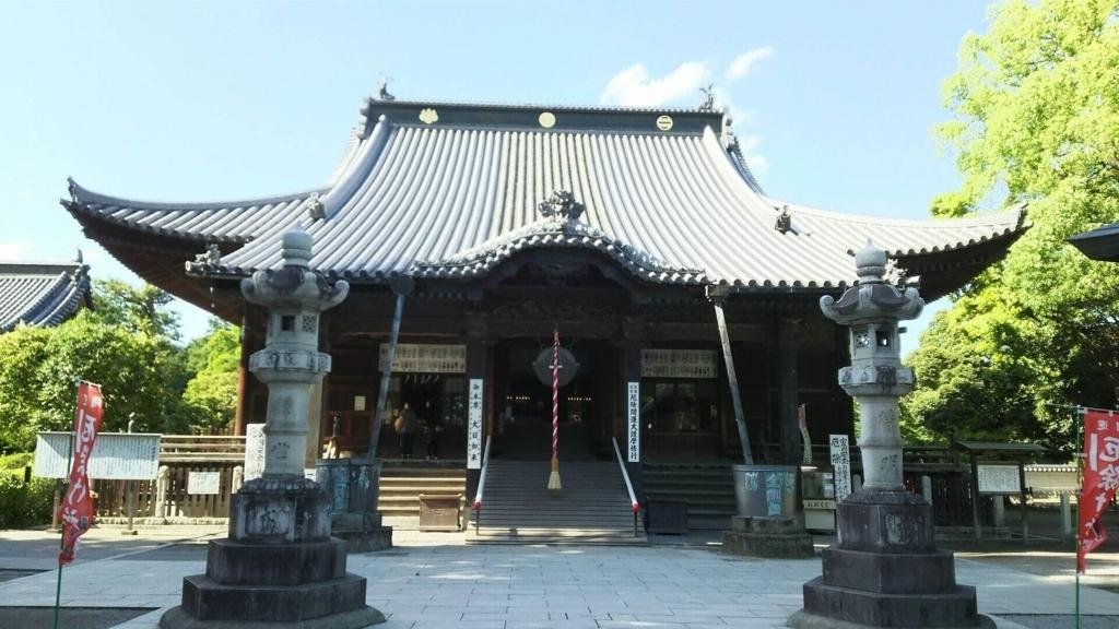 国宝の本堂