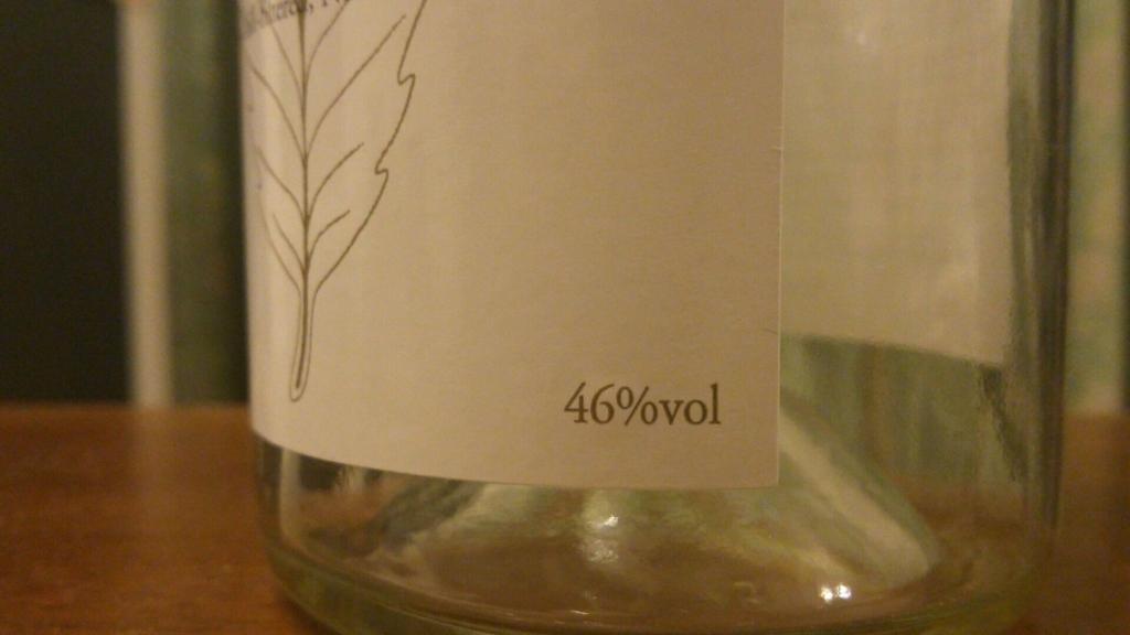 アルコール度数の表示