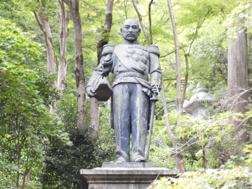 東郷元帥の銅像