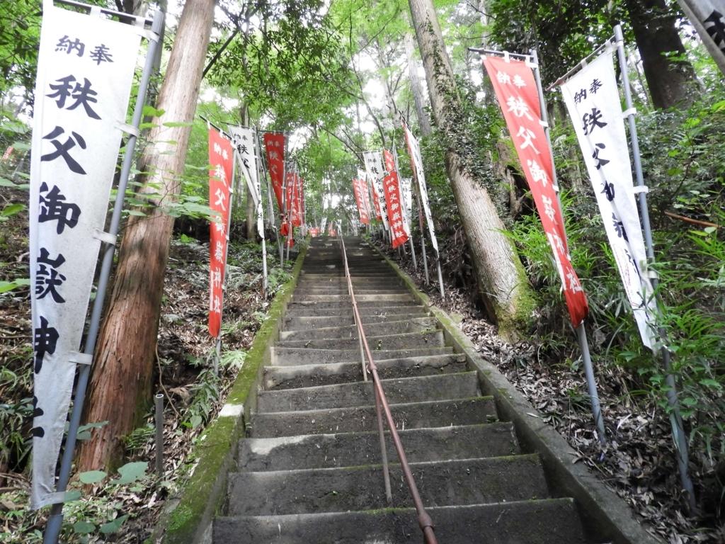 階段の上にある階段