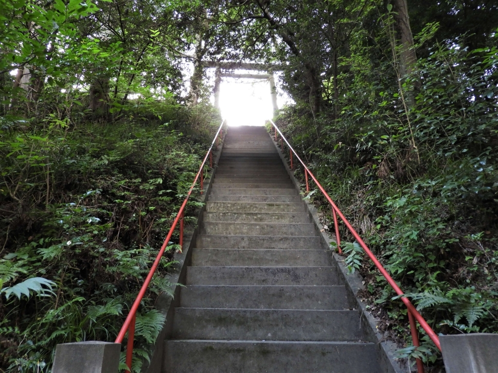 本当に最後の階段