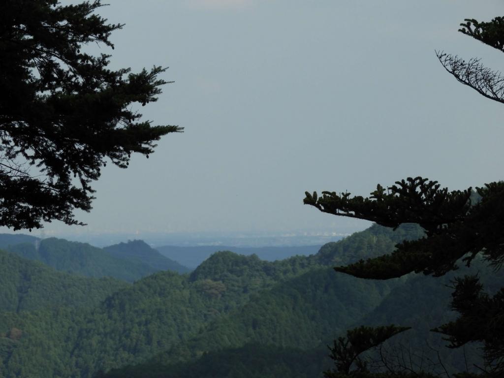 頂上からの眺望