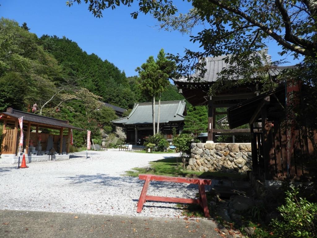 浄心寺の境内