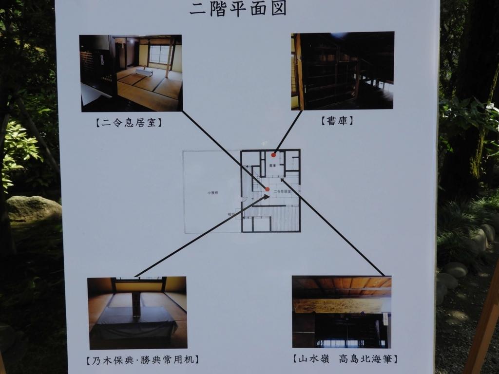 旧乃木邸の2階