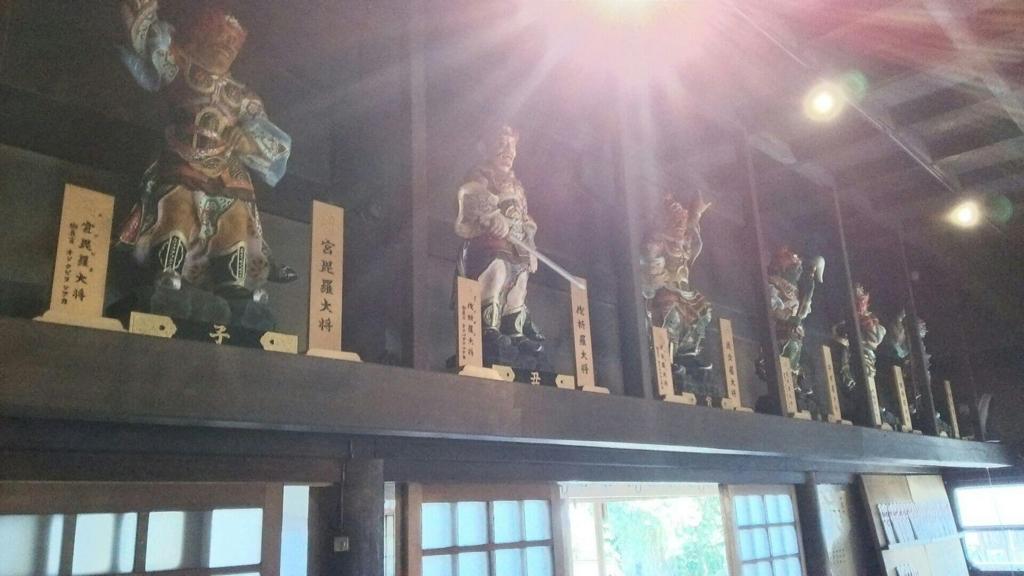 十二神将の像