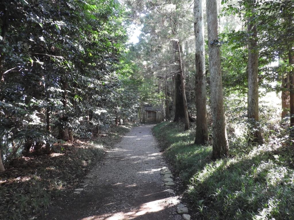 香取神宮の森に包まれた奥宮