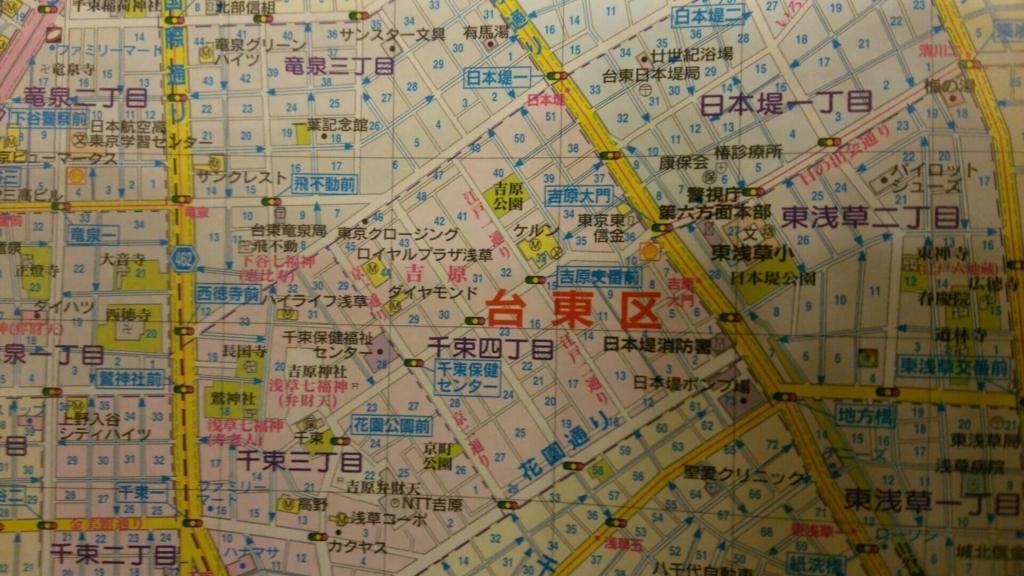 三ノ輪の地図