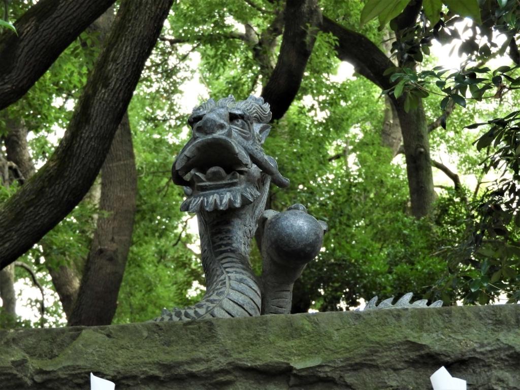 北方の守護神である「黒龍神」