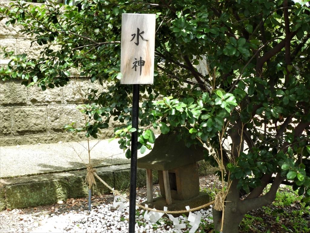 境内社の水神社