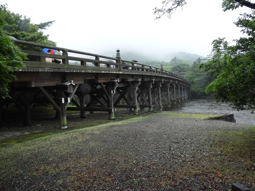 宇治橋の橋脚