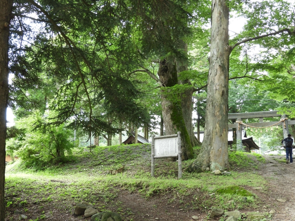 諏訪祭祀発祥の地