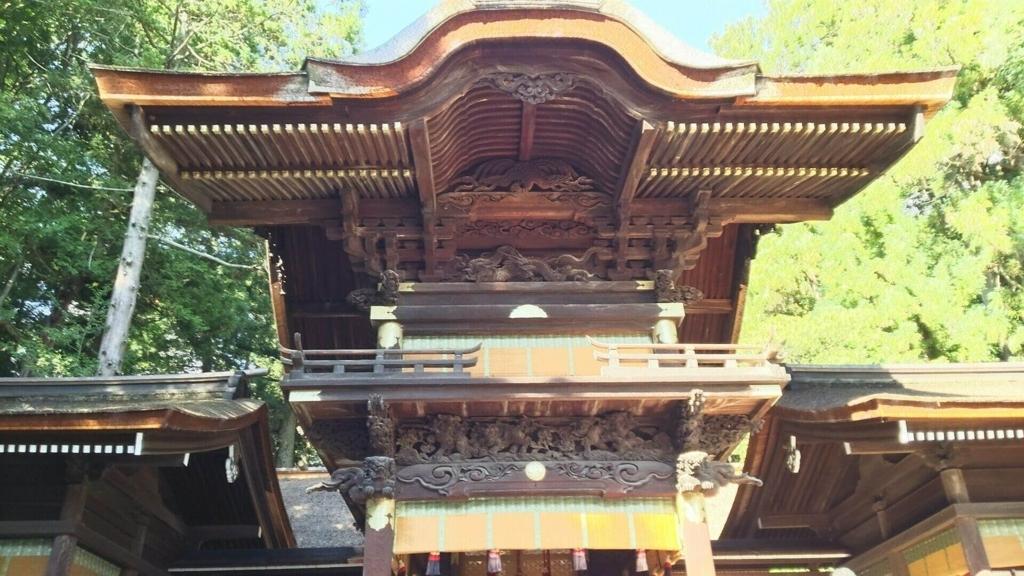 下社秋宮の彫刻