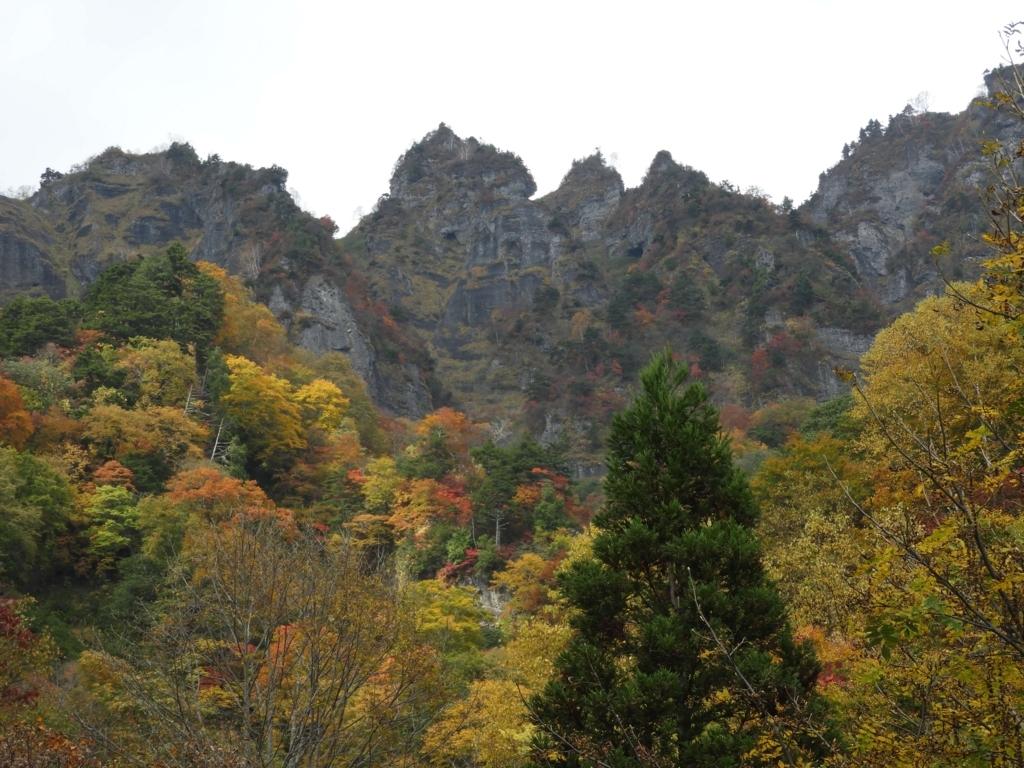戸隠連峰の山々