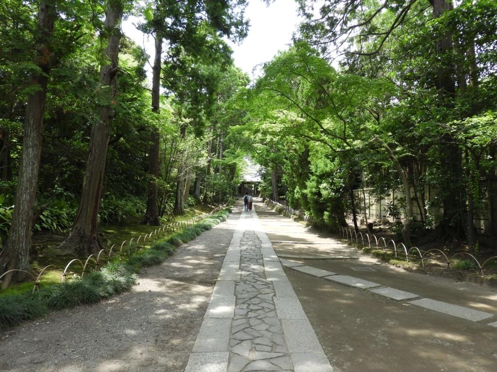 「鎌倉で最も美しい石畳」