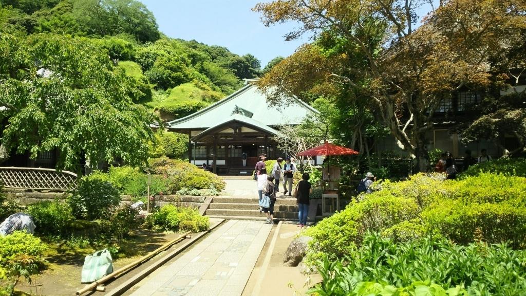 海蔵寺の境内