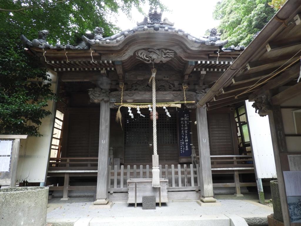 五所神社の社殿