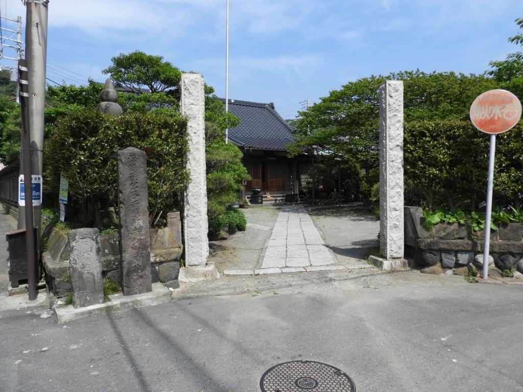 補陀洛寺の門