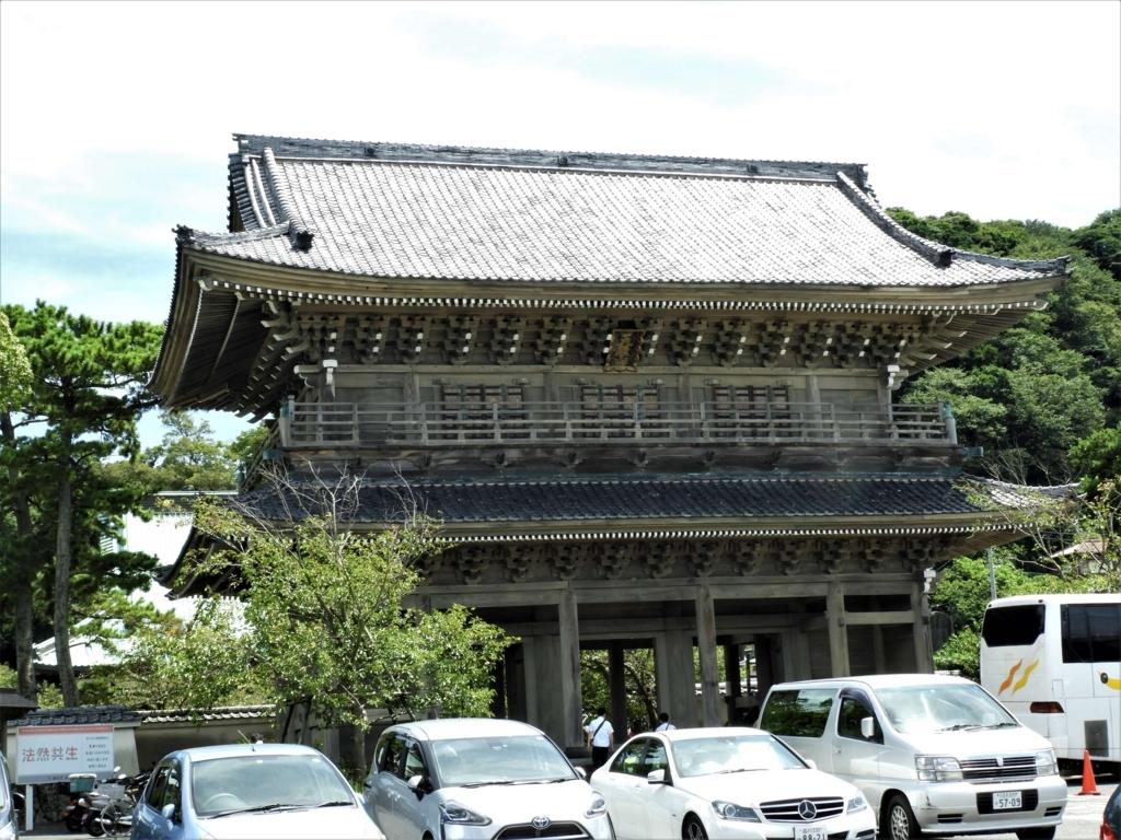 鎌倉最大の山門