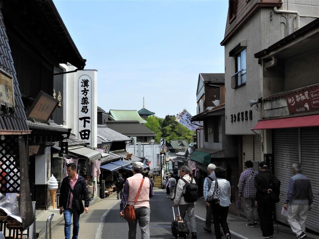 江戸時代にタイムスリップしたかのような街並み