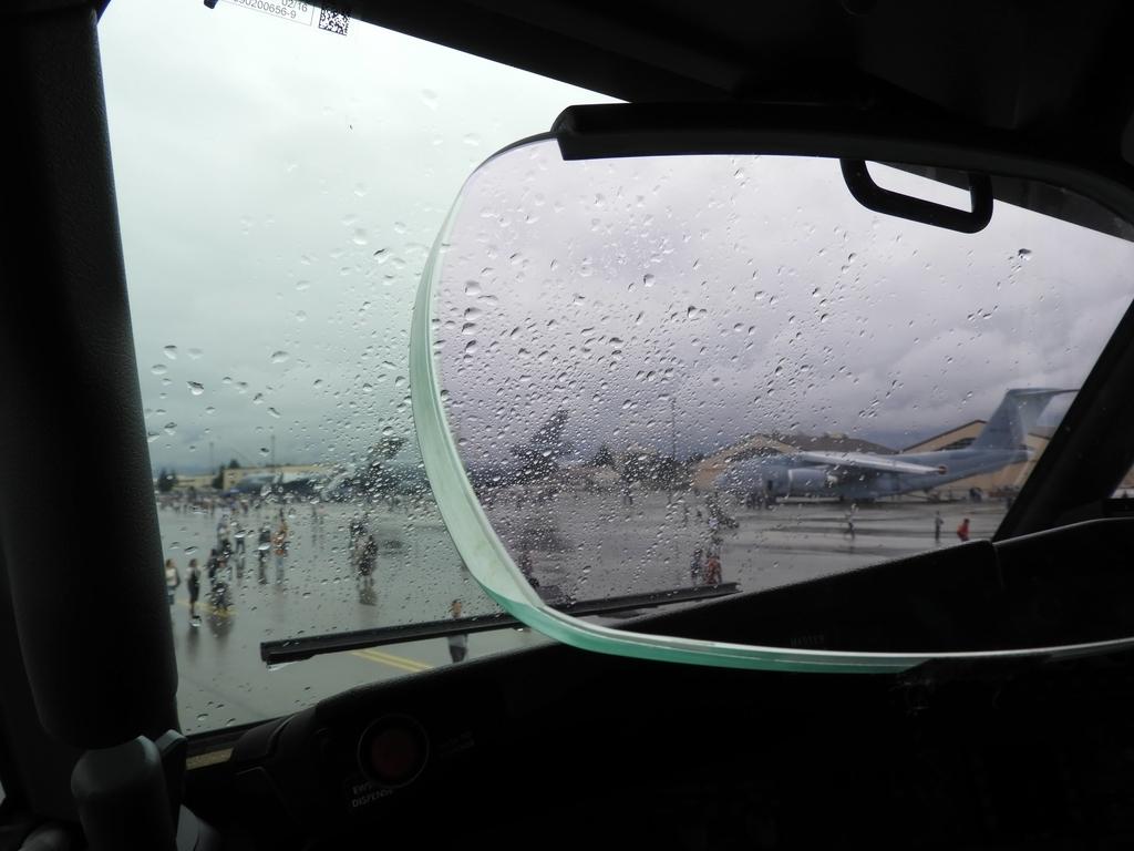 機長席からの眺め