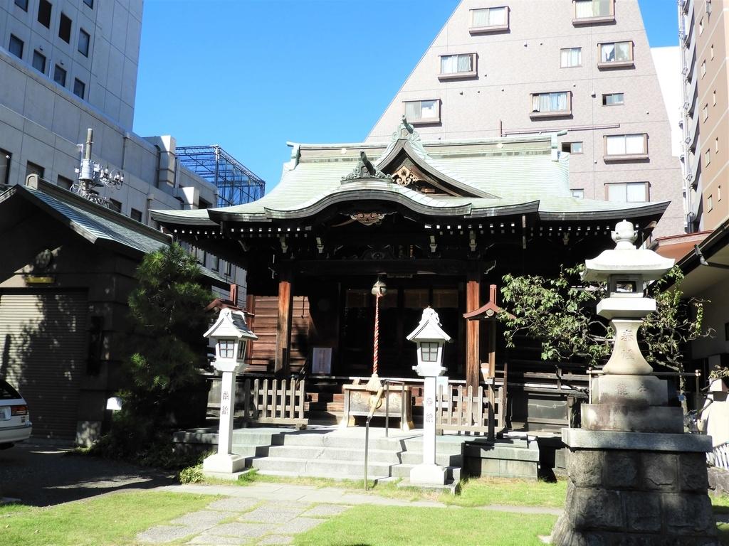 千束稲荷神社の拝殿