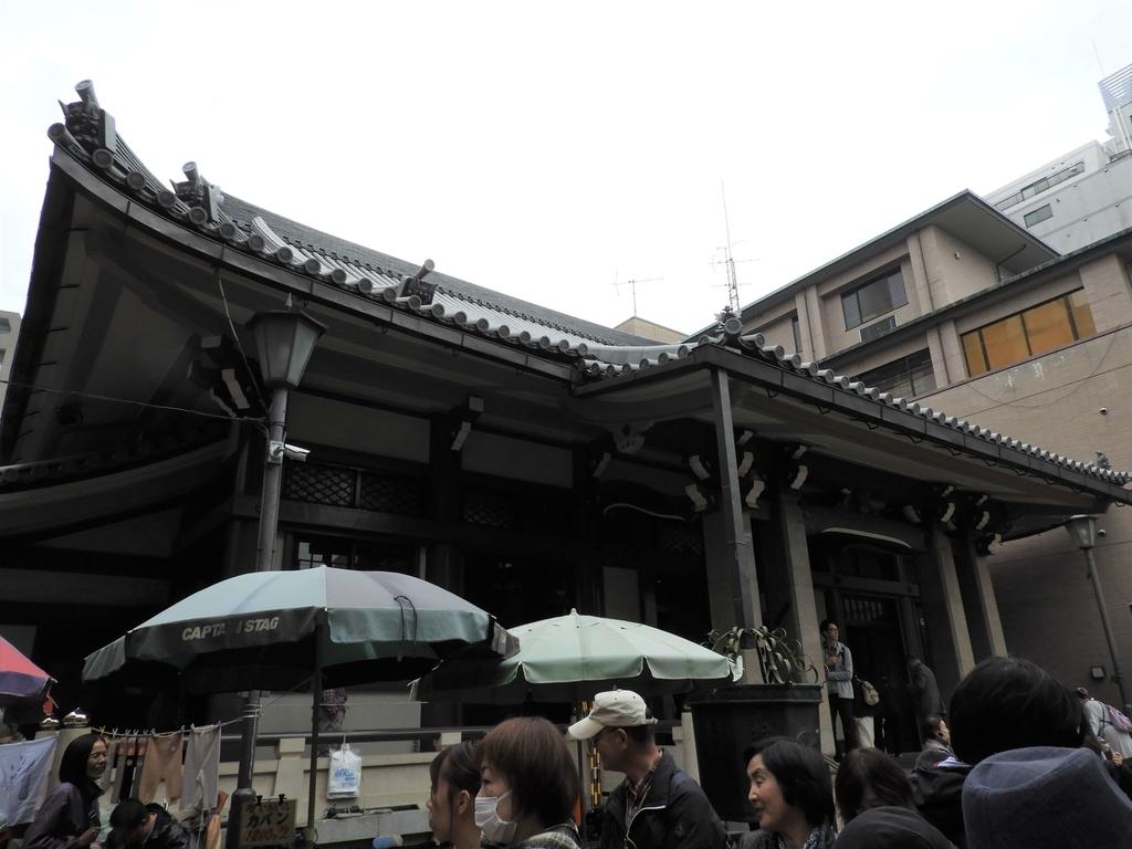 御朱印所がある高岩寺の本堂