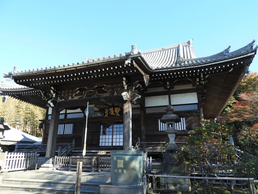 妙蓮寺の本堂