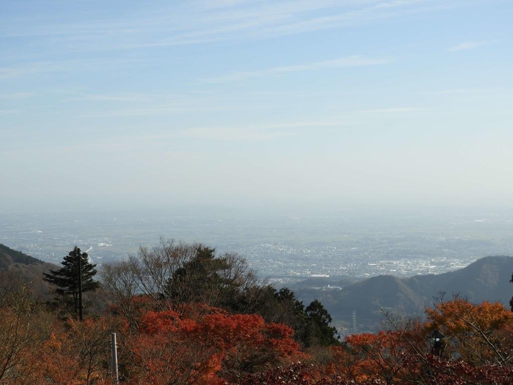 大山阿夫利神社からの眺望