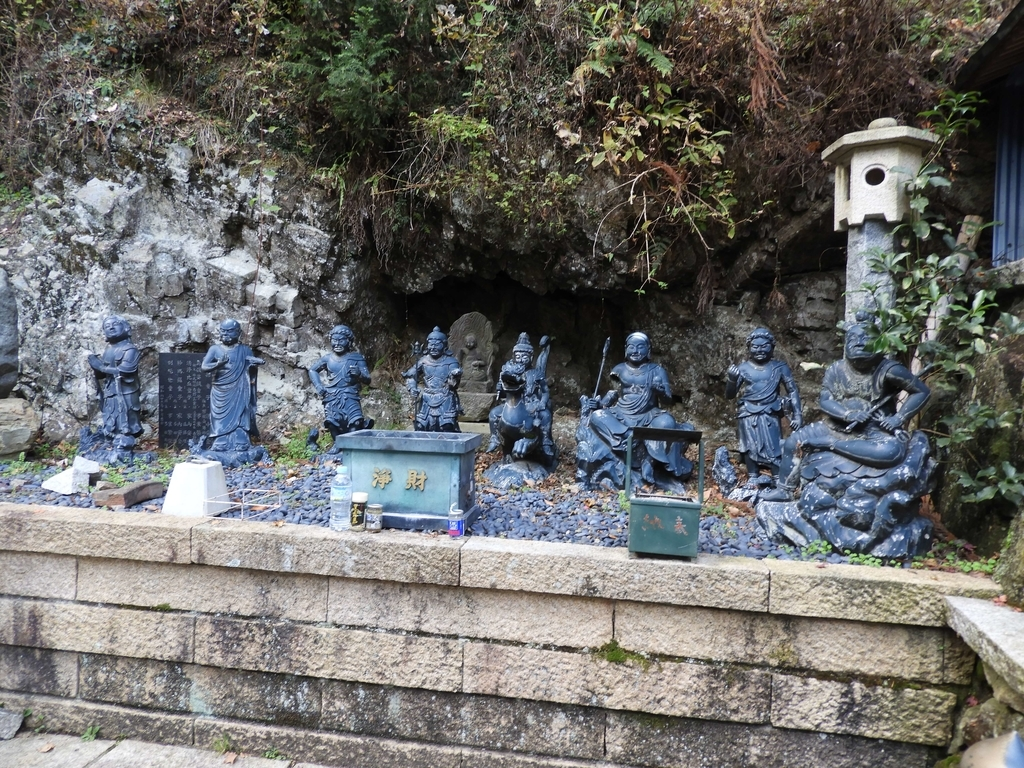 八大童子の像