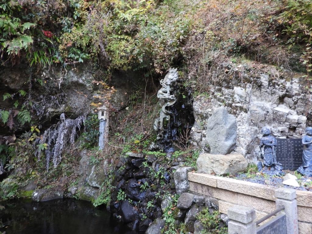 倶利伽羅龍の滝