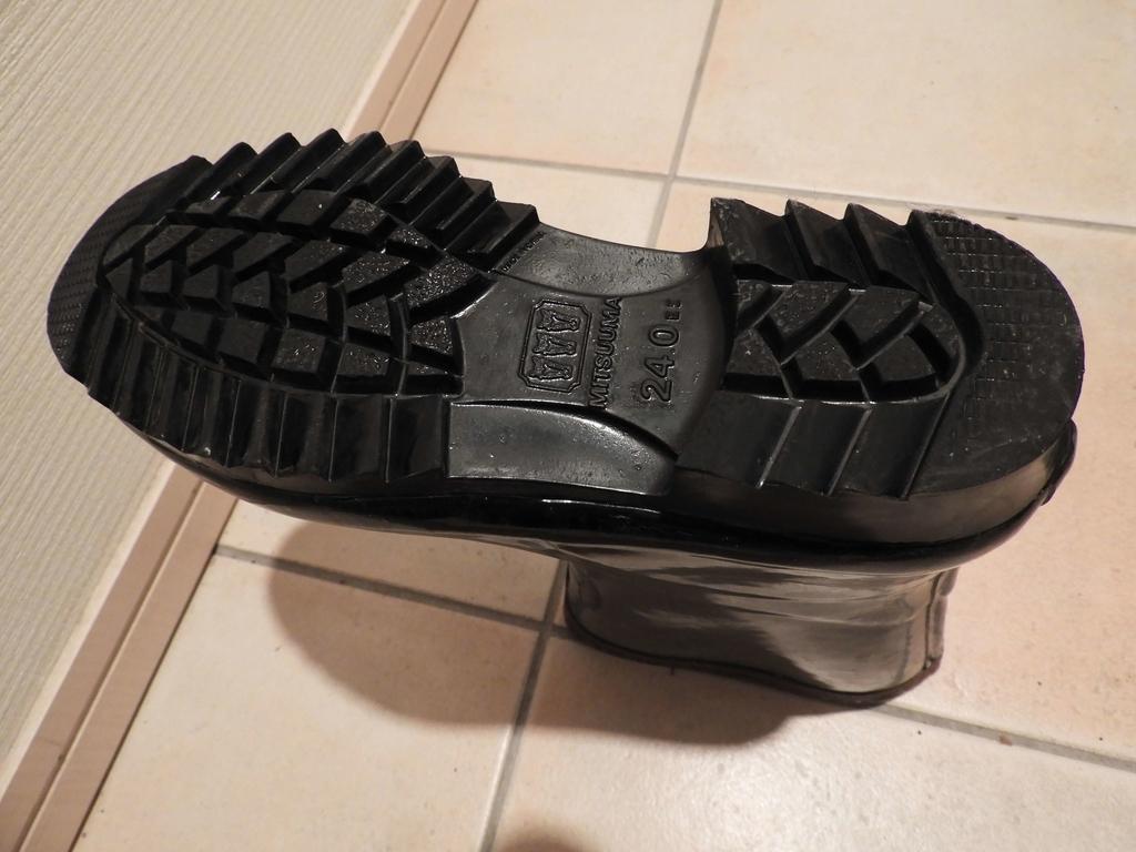 靴底のギザギザ