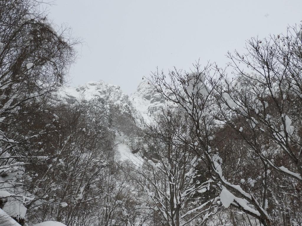 戸隠山の眺め