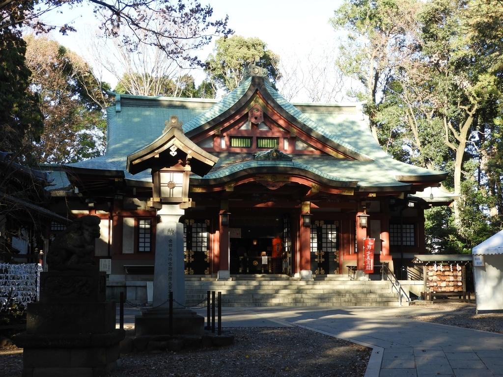 鉄筋コンクリート造の拝殿