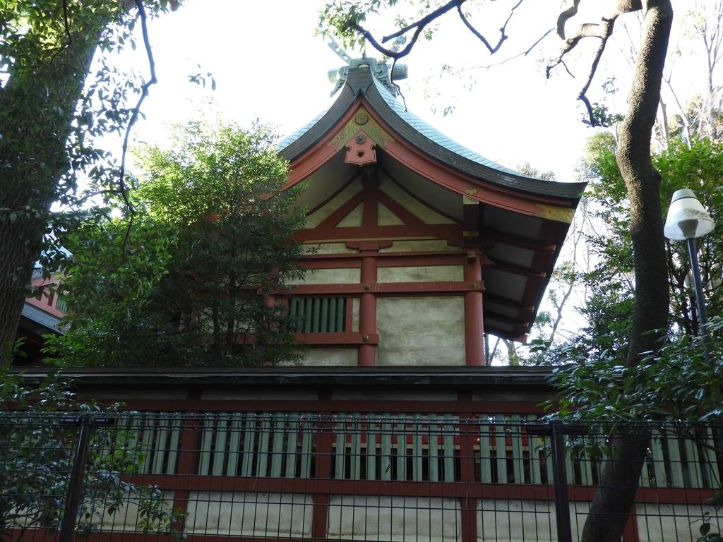世田谷八幡宮の本殿