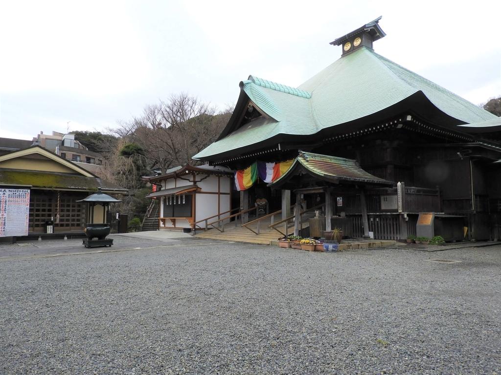 弘明寺の境内