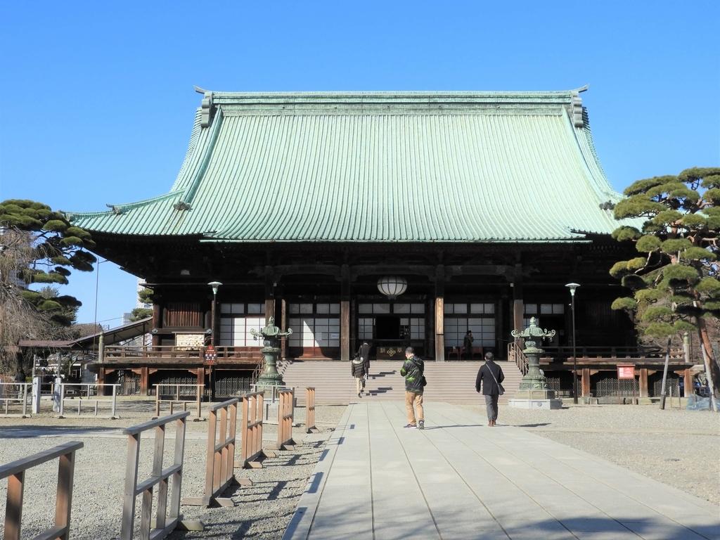 元禄時代の建築工芸の粋を結集した都内随一の雄大な規模をもつ本堂