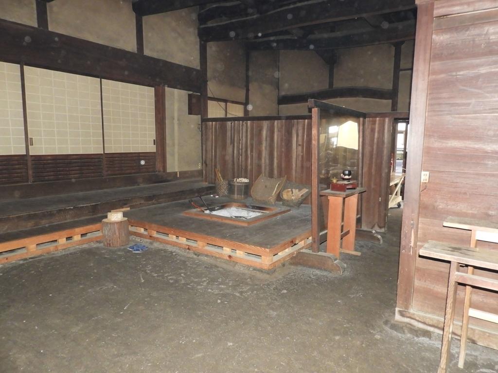 本坊旧庫裏の内部の様子