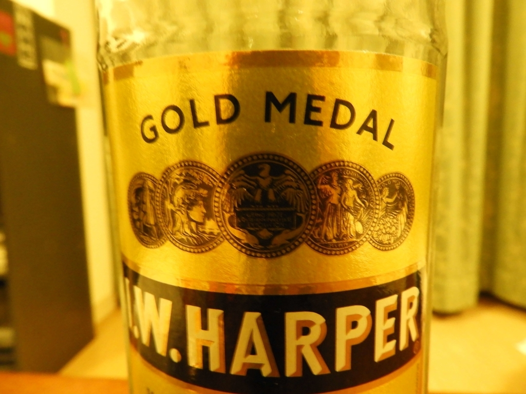 ボトルのゴールドラベル