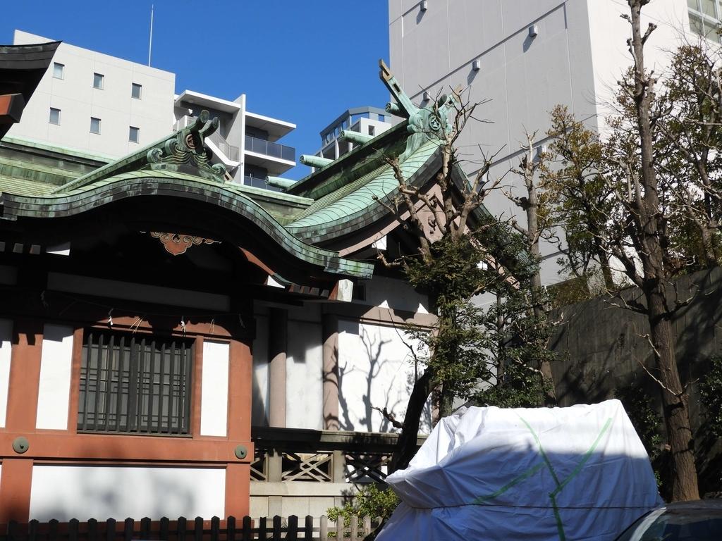 金刀比羅宮東京分社の本殿