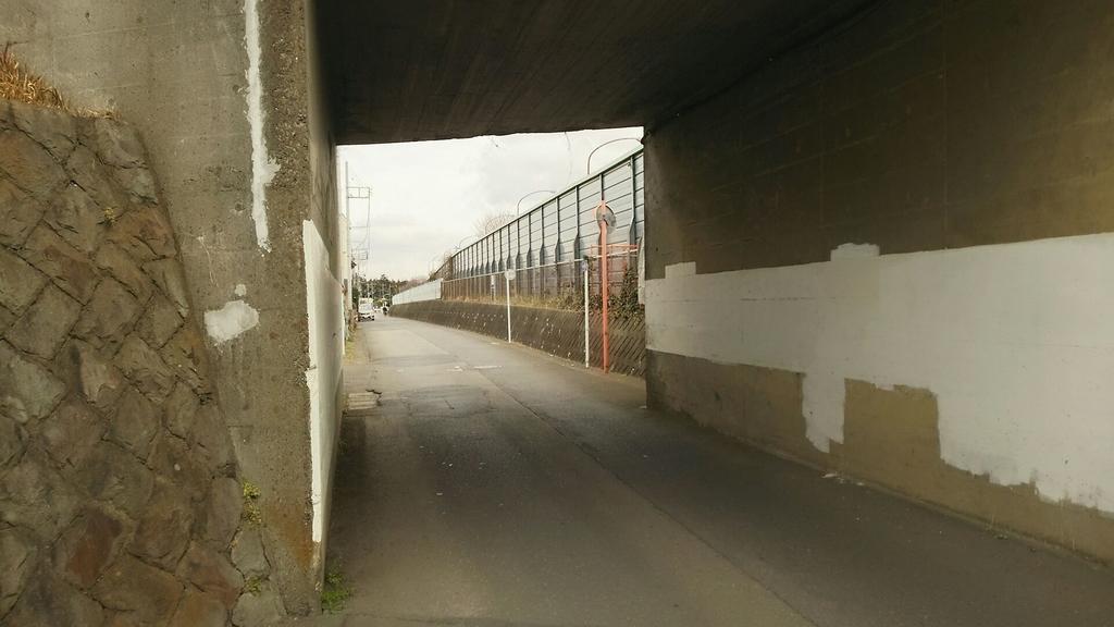 トンネルより東京側の区間