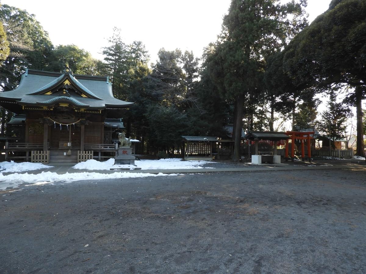 徒歩圏にある神社