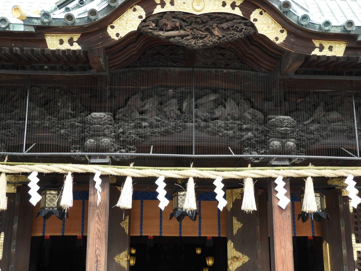 伊豆の名工小沢半兵衛・希道父子一派による精緻な彫刻