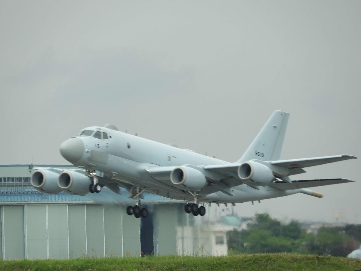 P-1の離陸