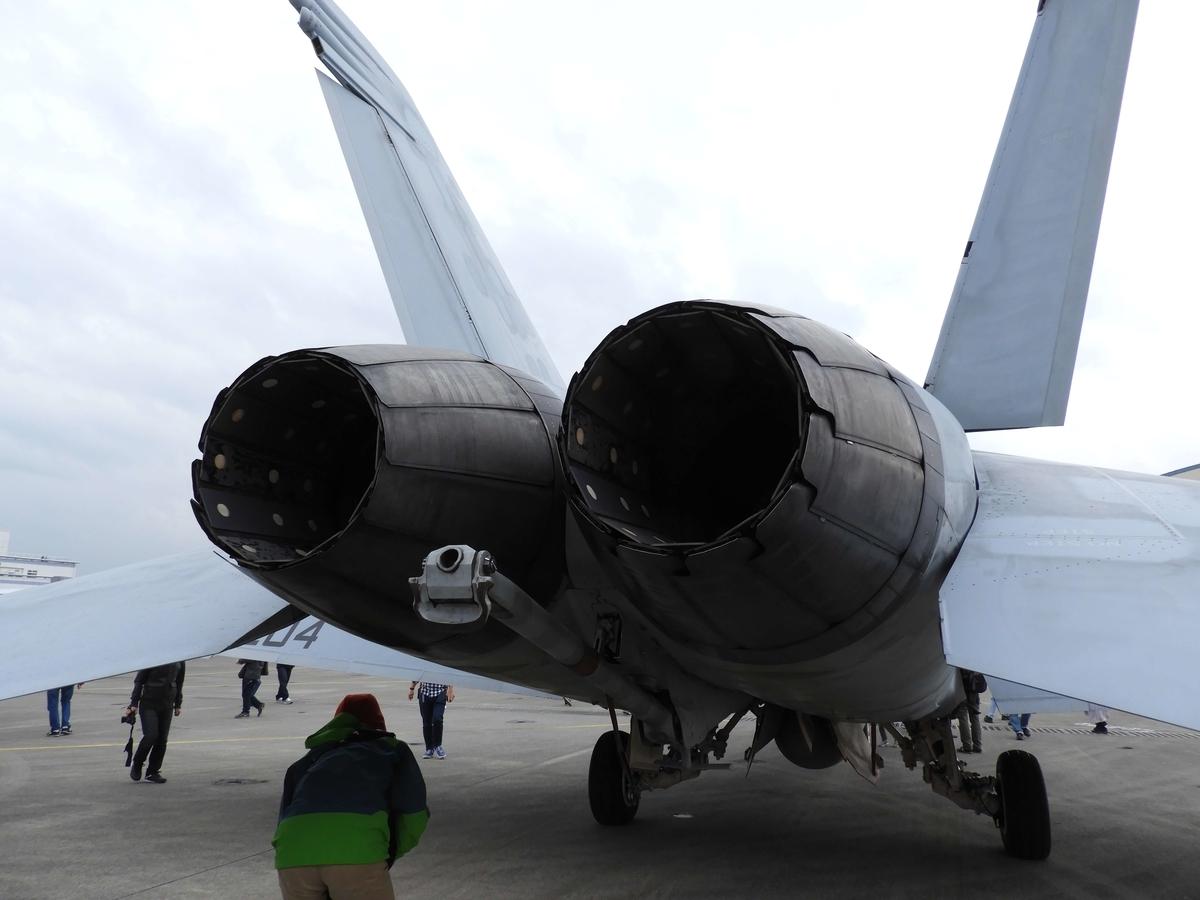 戦闘機のエンジン