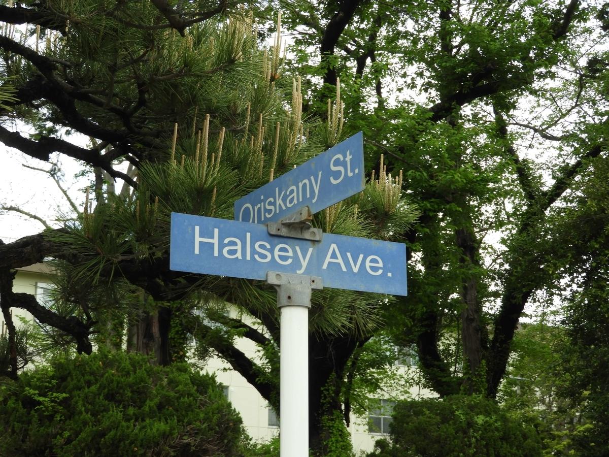 英語名の道路
