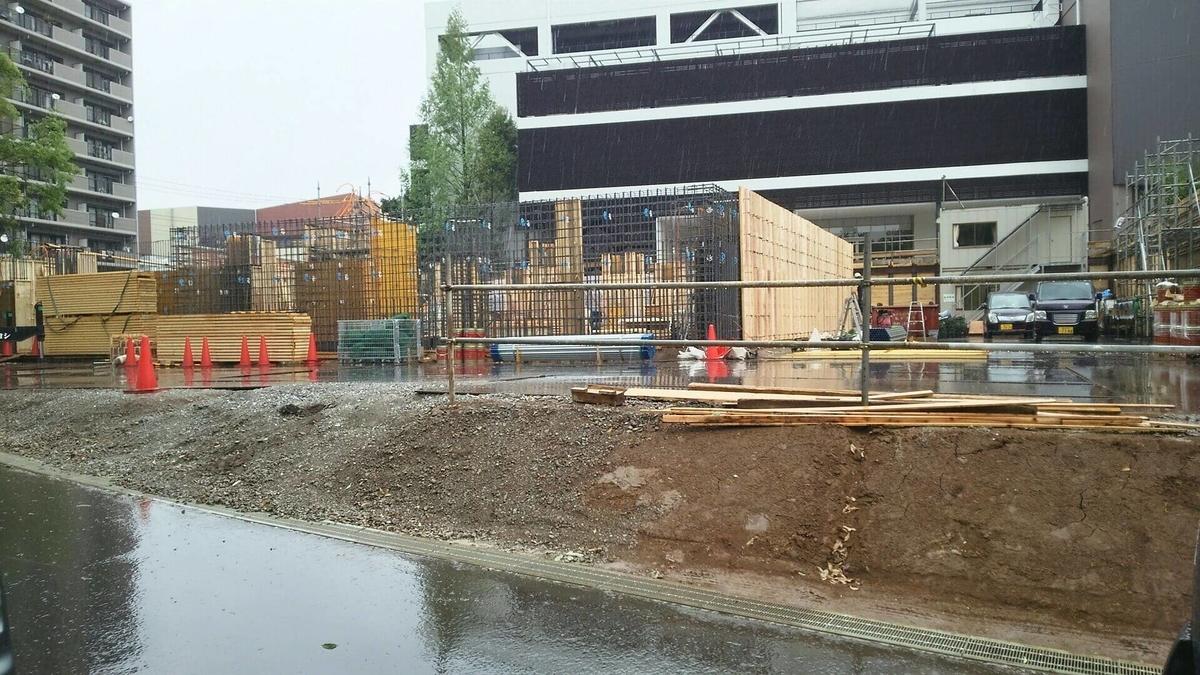 ミュージアム棟とパークライフ棟の新築工事